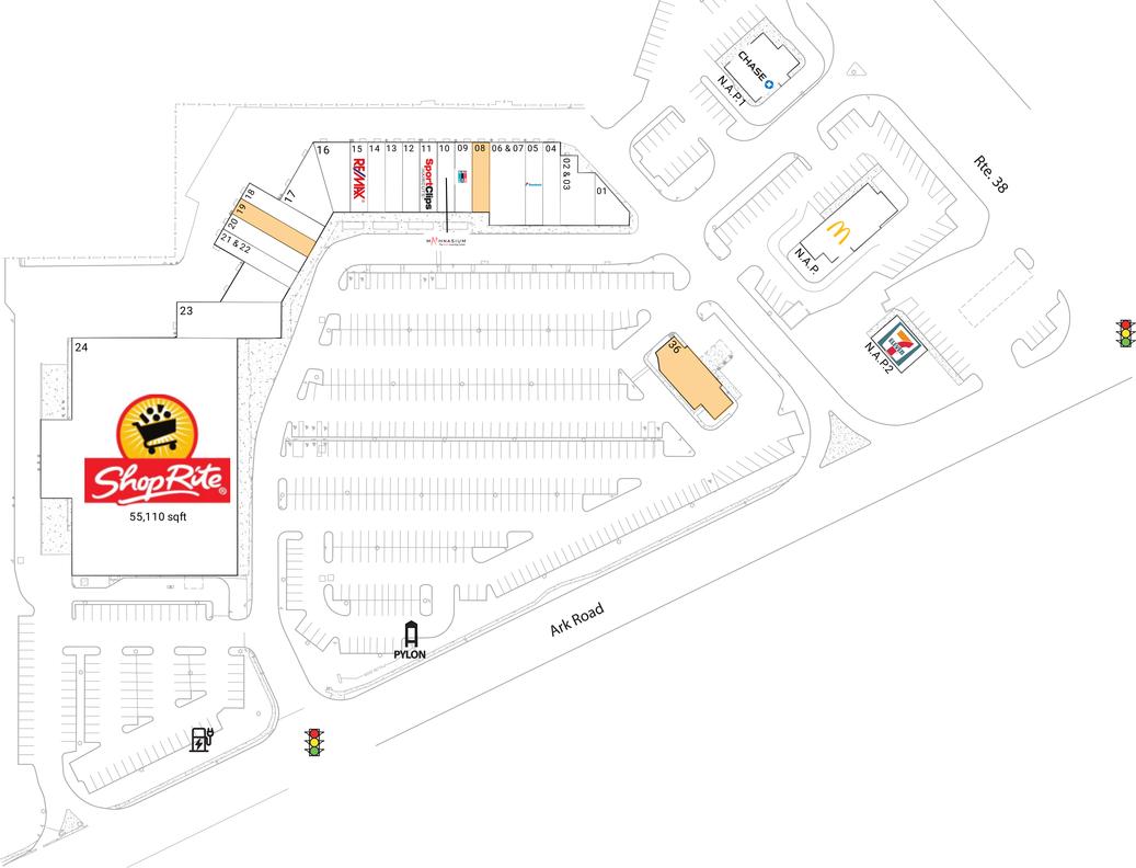 Mt Laurel Nj Available Retail Space Amp Restaurant Space