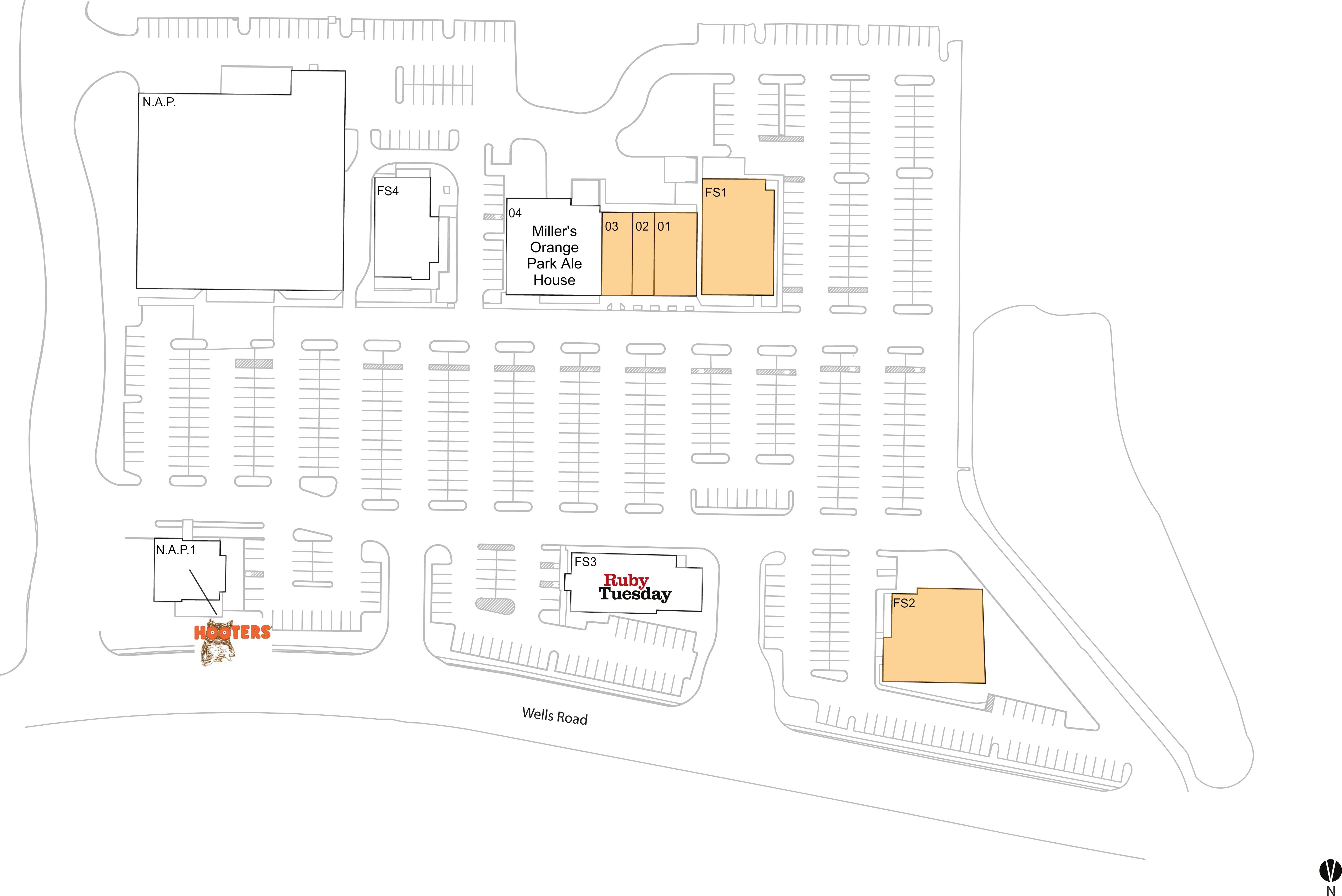 orange park fl available retail space restaurant space for lease fashion square brixmor. Black Bedroom Furniture Sets. Home Design Ideas
