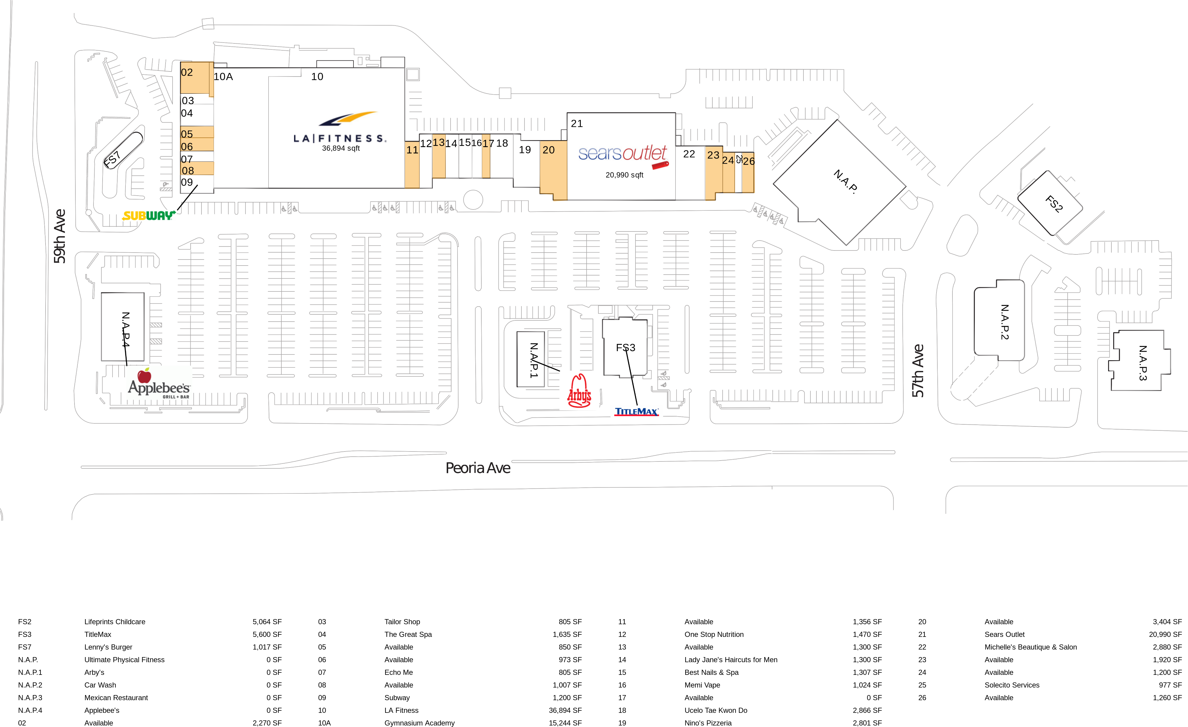 Glendale Galleria Map | World Map 07