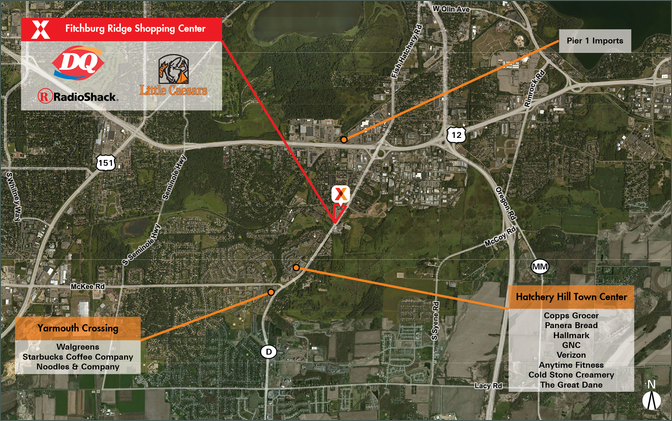 Retail Store for Lease - Fitchburg Ridge Shopping Center – Dane County
