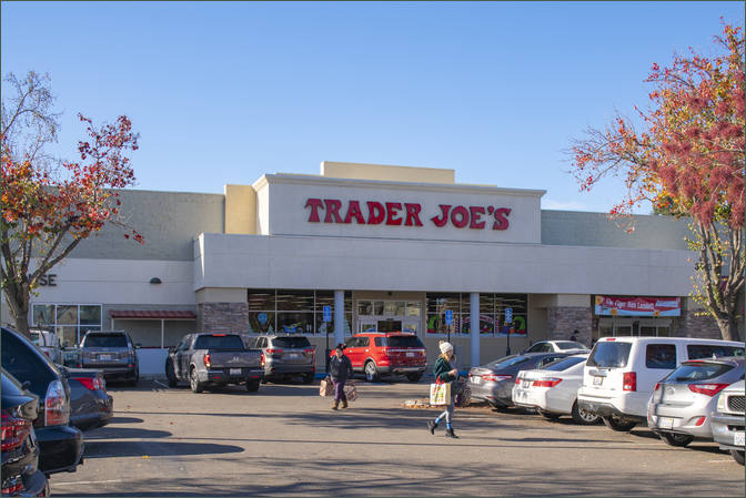 Commercial Leasing Pleasanton CA - Rose Pavilion next to Grocer