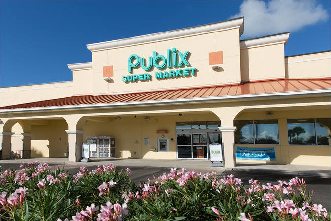 Lease Retail Space Stuart FL - Downtown Publix