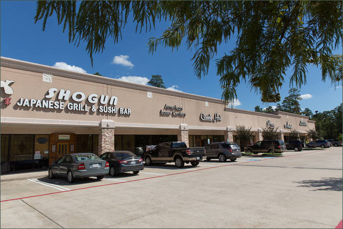 Shopping Center Space for Lease The Woodlands TX Next to Grocer - Windvale Center