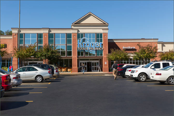 Shopping Center Space for Lease Next to Kroger – Forsyth County GA