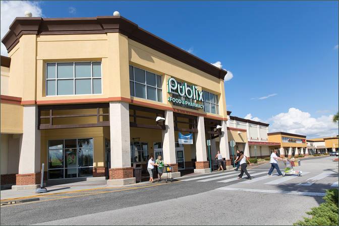Storefronts for Rent Next to Publix - Eustis Village - Florida