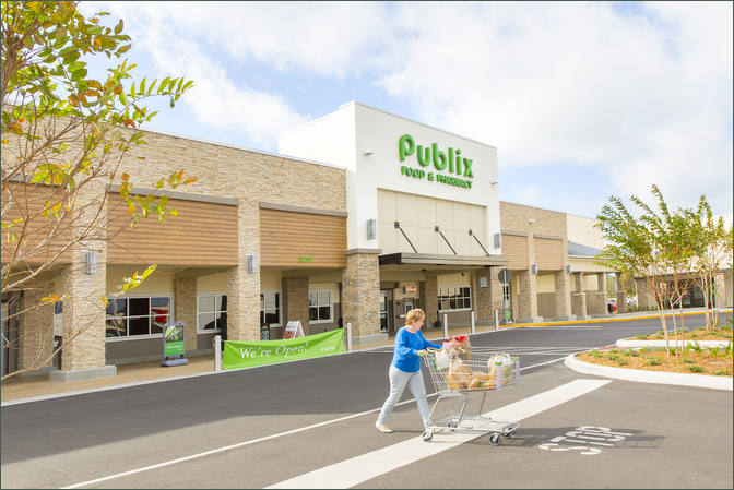 Retail Shops to Rent St. Petersburg FL – Bay Pointe Plaza with Publix