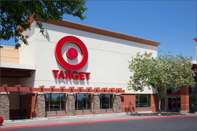 Retail Property CA - Clovis Commons with Target