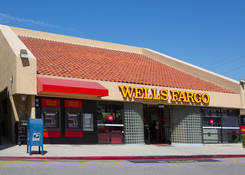 Commercial Property for Lease - Country Hills Shopping Center with bank Wells Fargo