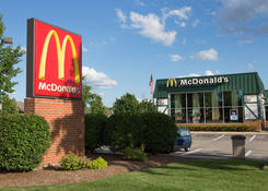 Lease Commercial Property Next to Restaurant McDonald's Libertyville IL - Butterfield Square – Lake County