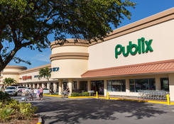 Shopping Center Space for Lease St Pete Beach FL with Publix - Dolphin Village