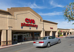 Commercial Property Rental - Santa Paula Center California with CVS Pharmacy