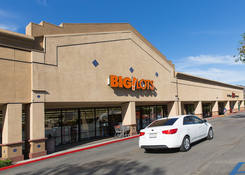 Commercial Property Rental - Santa Paula Center California with Big Lots