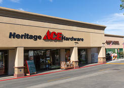 Commercial Property Rental - Santa Paula Center California with Hardware Store