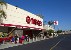Commercial Real Estate CA - Pacoima Center with Target