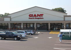 Whitemarsh Commercial Shopping Center anchored by Giant Foods – Conshohocken PA