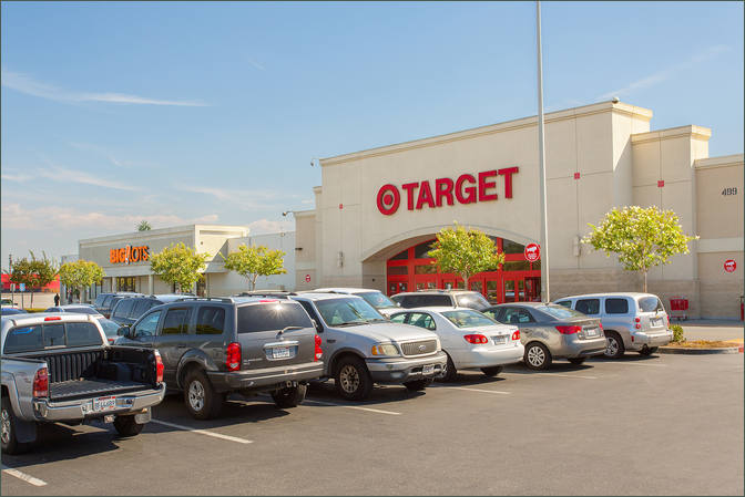 Commercial Leasing – Pad Available – San Bernardino Center California next to Target