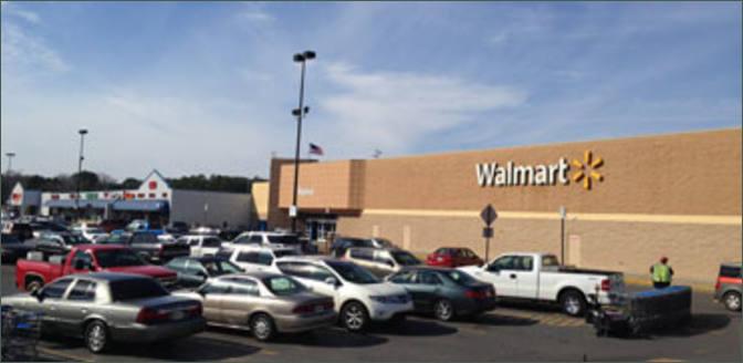 Shopping Center Space for Lease Next to Walmart – Sylacauga AL – Payton Park