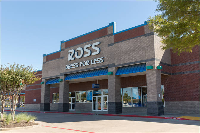 Retail Space for Lease Arlington TX - Bardin Place Center – Ross Dress for Less
