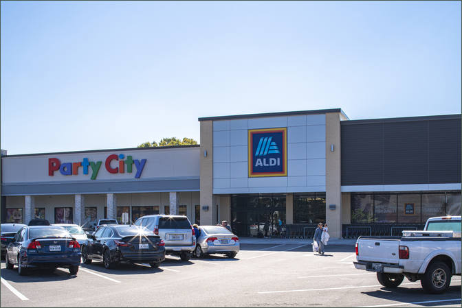 Shopping Center Space for Lease Houston TX with Party City - Tanglewilde Center