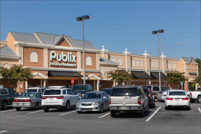 Retail Properties for Lease Next to Publix – Acworth GA
