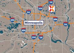 Comercial Retail Space For Lease - White Bear Hills Shopping Center White Bear Lake Minnesota